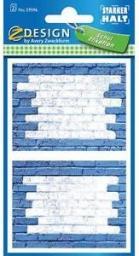 Russell Naklejki na zeszyty - niebieski mur (RUSS2284)