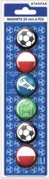 Starpak Magnes football śr. 30 mm 6el