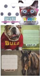 Eurocom Naklejki na zeszyt Animals II 10/1 (213290)