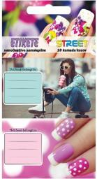 Eurocom Naklejki na zeszyt Teen Girl 10/1 (213288)