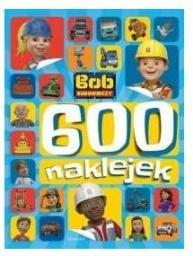 Egmont Bob Budowniczy. 600 Naklejek