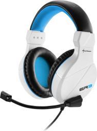 Słuchawki z mikrofonem Sharkoon Rush ER3  biały