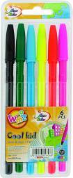 Amex Długopis Beifa WMZ 6 kolorów w etui