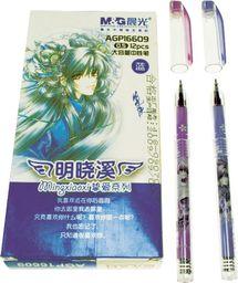 Titanum Długopis żelowy niebieski i fioletowy (AGP16609)