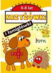 Love Books Krzyżówki i łamigłówki, 5-8 lat