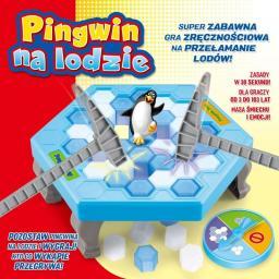 Lucrum Gra - Pingwin na lodzie