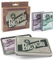 Bicycle Karty Retro Tin Gift Set