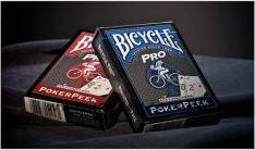 Bicycle Karty Pro Red & Blue Mix Deck