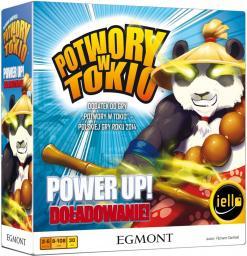 Egmont Gra- Power Up! Doładowanie!/Potwory w Tokio w.2018