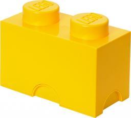 LEGO Room Copenhagen  Storage Brick 2 pojemnik żółty (RC40021732)