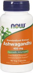 NOW Foods Ashwagandha Extract 450mg 90 kapsułek
