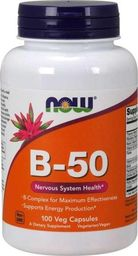 NOW Foods NOW Foods Vitamin B-50 100 kaps.