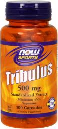 NOW Foods Tribulus 500mg 100 kapsułek