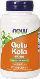 NOW Foods Gotu Kola 450mg 100 kapsułek