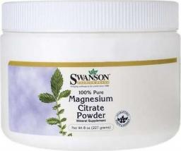 Swanson Cytrynian Magnezu 244g