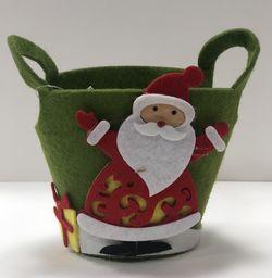 KW Office Ozdoba Boże Narodzenie koszyk okrągły