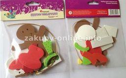 Titanum Zestaw Kreatywny Piankowy Boże Narodzenie: Bałwanek,ciastek.