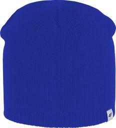 Outhorn Czapka zimowa chłopięca HJZ18-JCAM001 niebieski r. 54