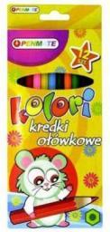 Penmate Kredki Ołówkowe Kolori 12 Kolorów