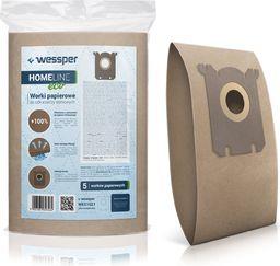 Worek do odkurzacza Wessper do Philips, AEG, Electrolux, S-Bag - papierowe 5 sztuk