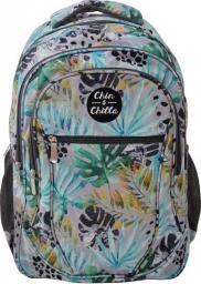 Chin&Chilla Plecak trzykomorowy Liście