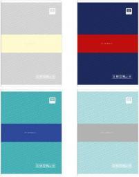 Noster Zeszyt A5/60# Black&Blue pastel