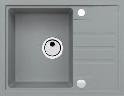 Alveus Zlewozmywak Intermezzo 30 beton (62x48) z syfonem manualnym (1303081)