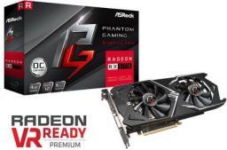Karta graficzna ASRock Phantom Gaming Radeon RX570 4G, 4GB, 1149 MHz, 8Gbps, DVI, DP, HDMI, DVI