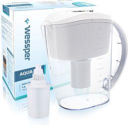 Dzbanek filtrujący Wessper biały dzbanek filtrujący AquaPro Alkaline 3,5l z filtrem alkalicznym
