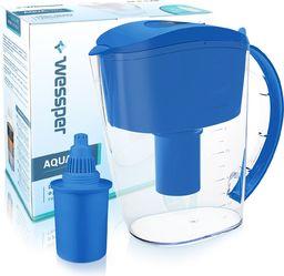 Dzbanek filtrujący Wessper niebieski dzbanek filtrujący AquaPro Alkaline 3,5l z filtrem alkalicznym