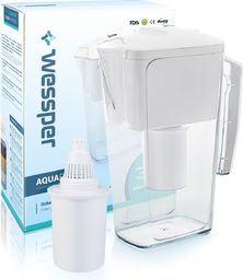 Dzbanek filtrujący Wessper biały dzbanek filtrujący AquaPro Alkaline 2,5l z filtrem alkalicznym