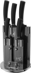 Berlinger Haus 6 - Częściowy Zestaw Noży ze Stojakiem Black Royal Collection - BH/2382