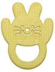 Mamajoo Gryzak Miękki królik Żółty (9656)
