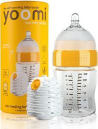 Yoomi Zestaw butelka 240ml + 2 podgrzewacze + kapsuła