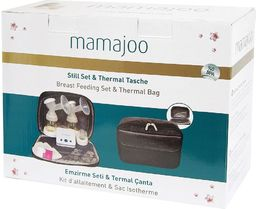 Mamajoo Zestaw do karmienia w termicznej torbie