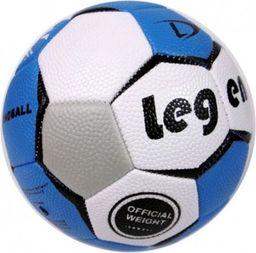 Legend Piłka ręczna nr 2 szaro-niebieska