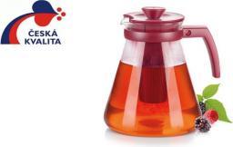 Tescoma  Dzbanek Teo Tone 1.7 l. z sitkami do zaparzania czerwony
