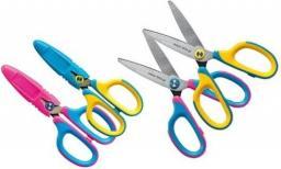 Tetis Nożyczki z etui 135mm niebiesko-różowe blister (GN265-NR)