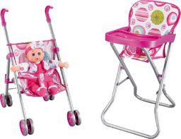 Dodo Set 1 Wózek i Krzesełko