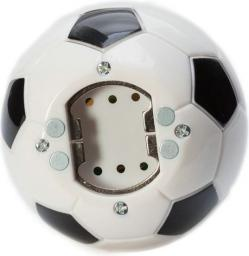 Gadget Master Otwieracz do butelek dźwiękowy Piłka nożna biały