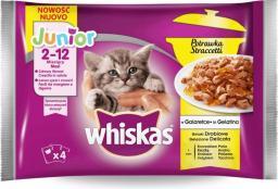 Whiskas Junior drobiowa potrawka w galaretce - Saszetka