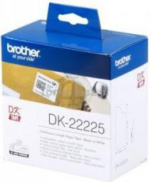 Brother taśma DK-22225 (black on white)