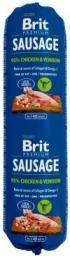 Brit Premium Sausage  kurczak z dziczyzną 800g