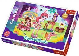 Trefl Puzzle 160 el. Enchantimals, Bree, Danessa i Felicyty w ogrodzie