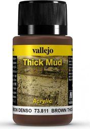 Vallejo Thick Mud-Brown Mud 40 ml