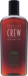 American Crew Szampon do włosów Official Supplier To Men 3-In-1 Tea Tree Shampoo Conditioner And Body Wash 450ml