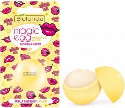 Bielenda Magic Egg Lip Balm Waniliowa Malina Balsam do ust w kulce 8.5g