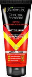 Bielenda Slim Cellu Corrector Detox Skoncentrowane termoaktywne serum Węgiel+Chili 250ml
