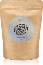 BodyBoom Peeling kawowy Active Charcoal 200g