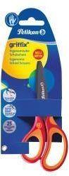 Pelikan Griffix Nożyczki dla leworęcznych czerwone